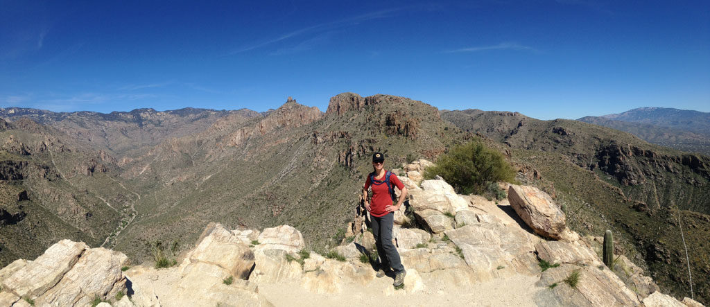 Blackett's Ridge Hike, Tucson