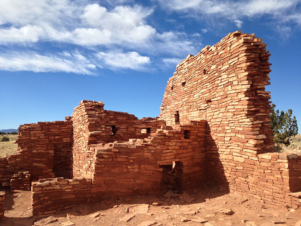 pueblo ruins Wupatki National Monument