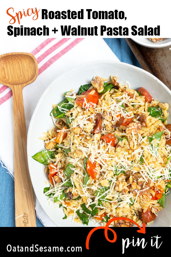 Roasted Tomato Orzo Salad