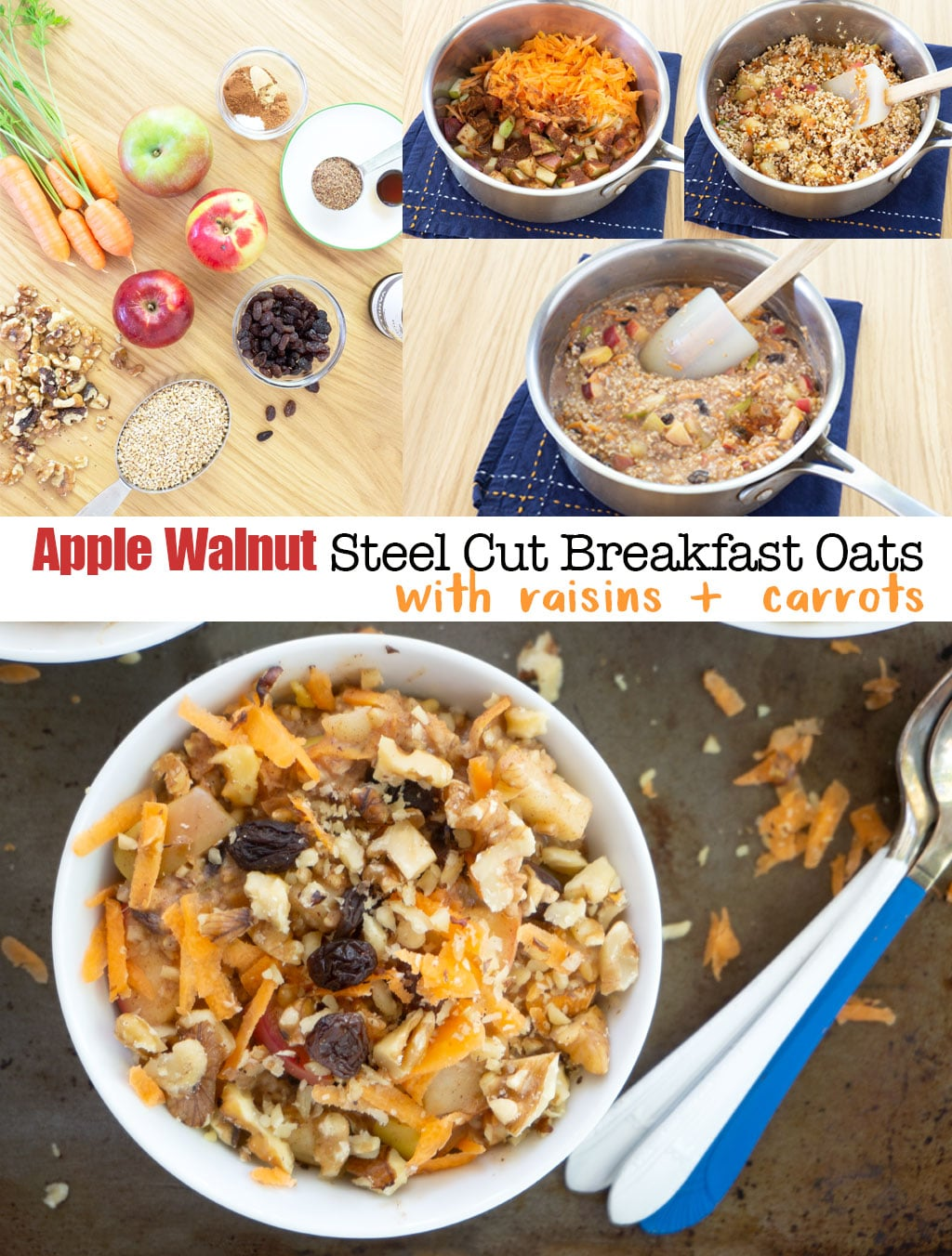 Step by Step Photos for Making healthy oatmeal