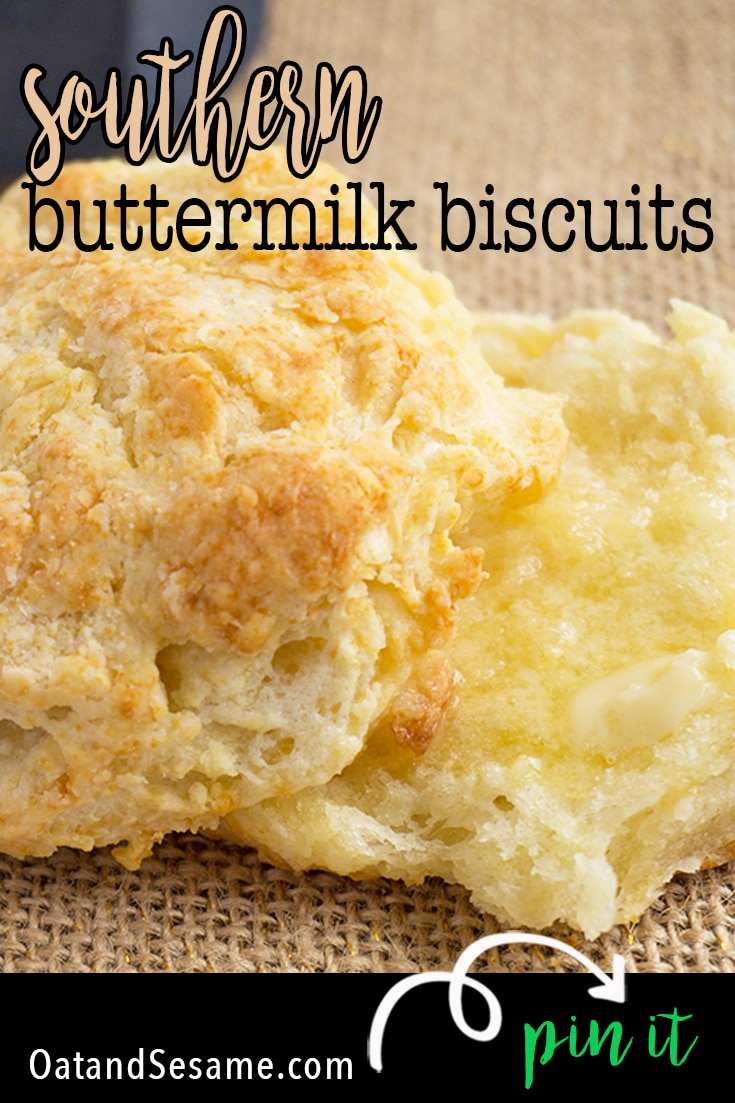 Traditional Southern Buttermilk Biscuit