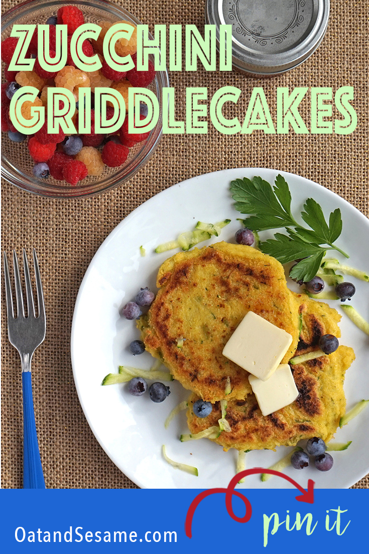 Zucchini Griddle Cakes