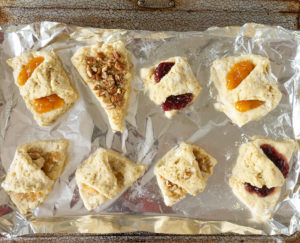 Scones on foil - How to make perfect scones