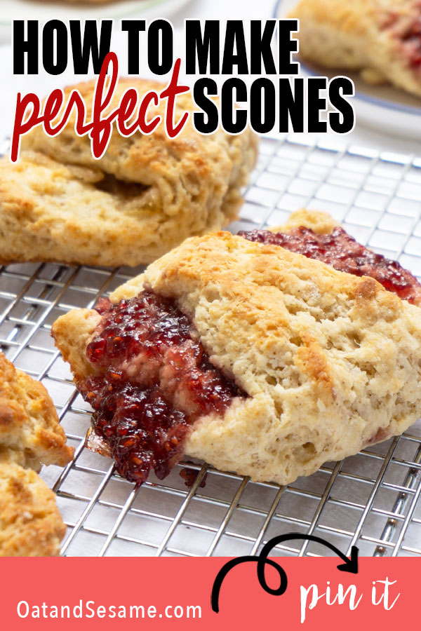 Raspberry Jam on scone