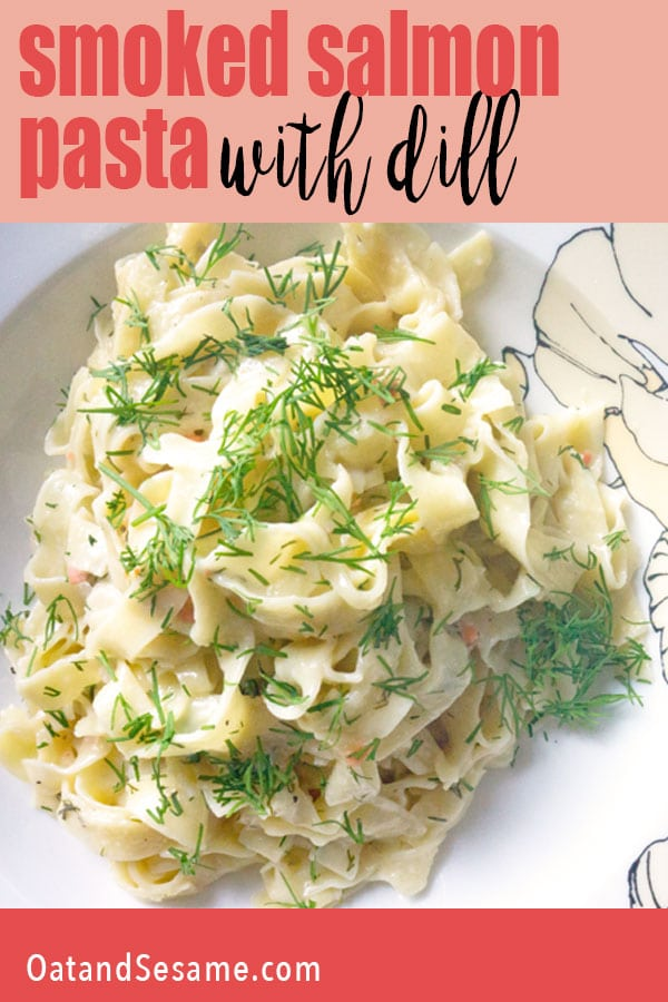 bowl of pasta with dill