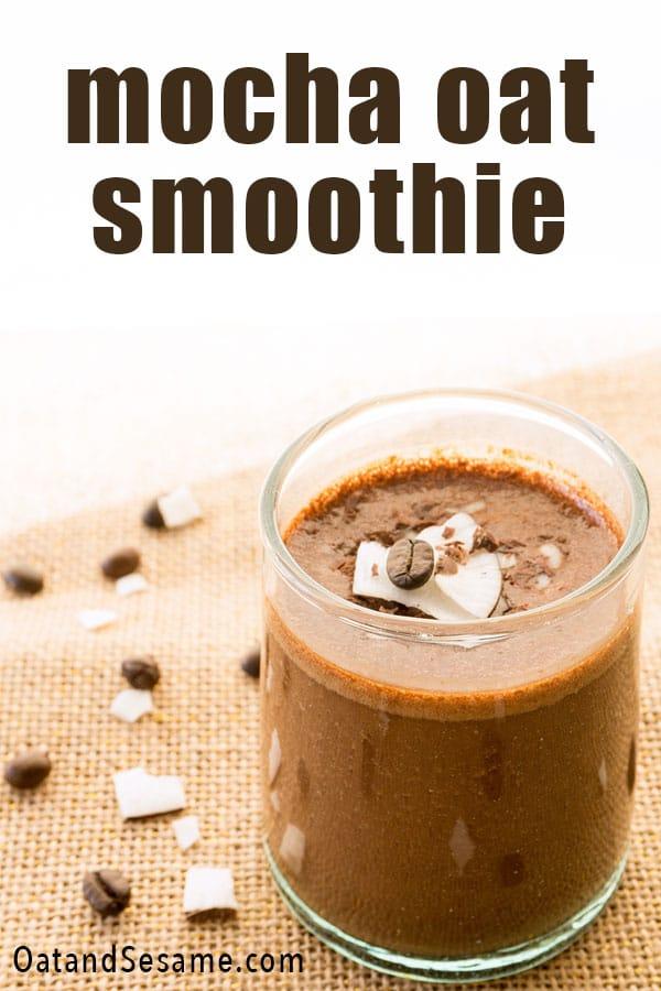 mocha smoothie