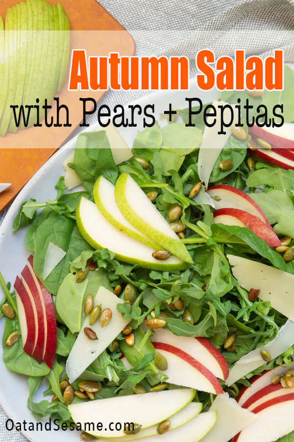 Salad with Pears and Pepitas