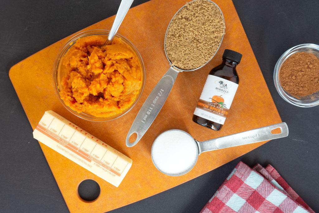 Pumpkin White Chocolate Chip Cookies ingredients