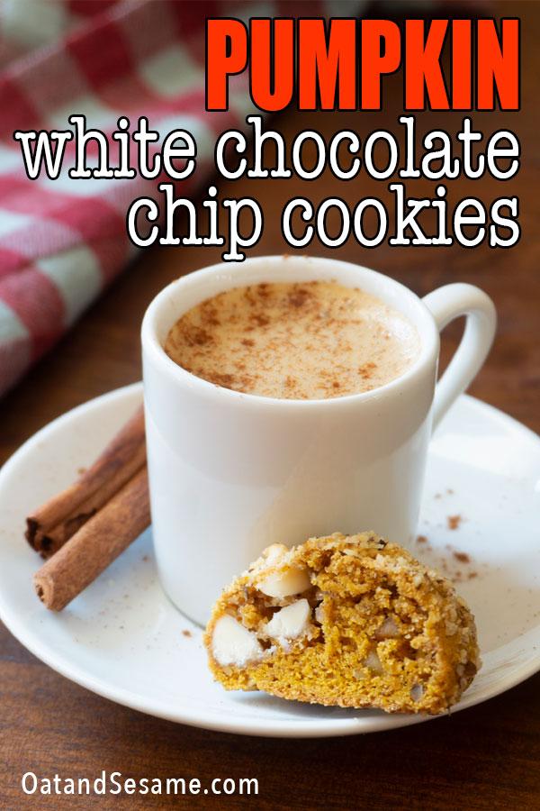 Pumpkin Cookies with espresso