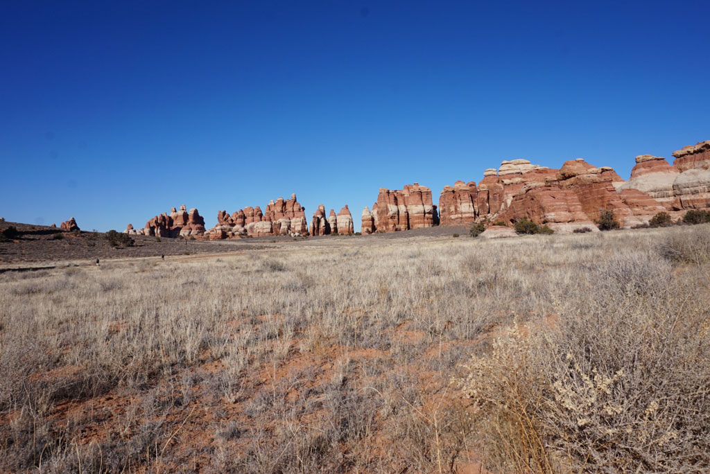 Moab, UT - the needles area rock formations