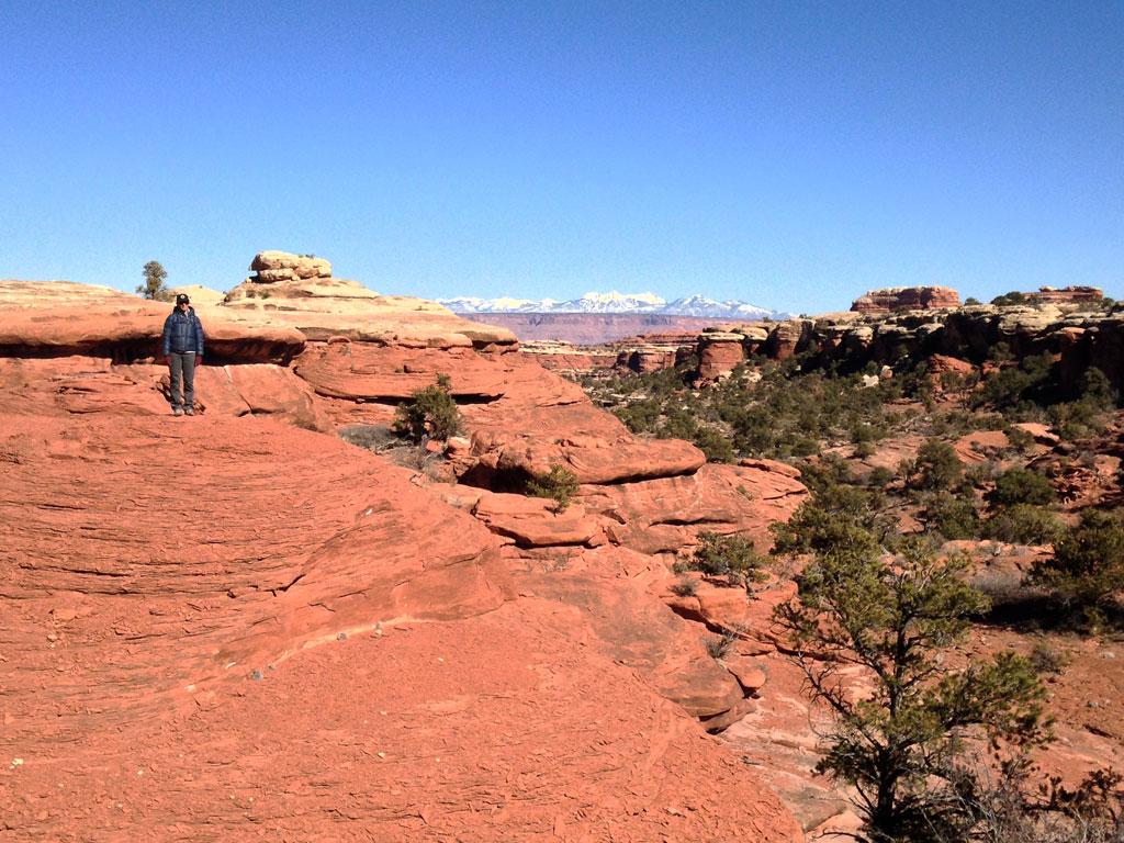 Moab, UT - the needles area hiking