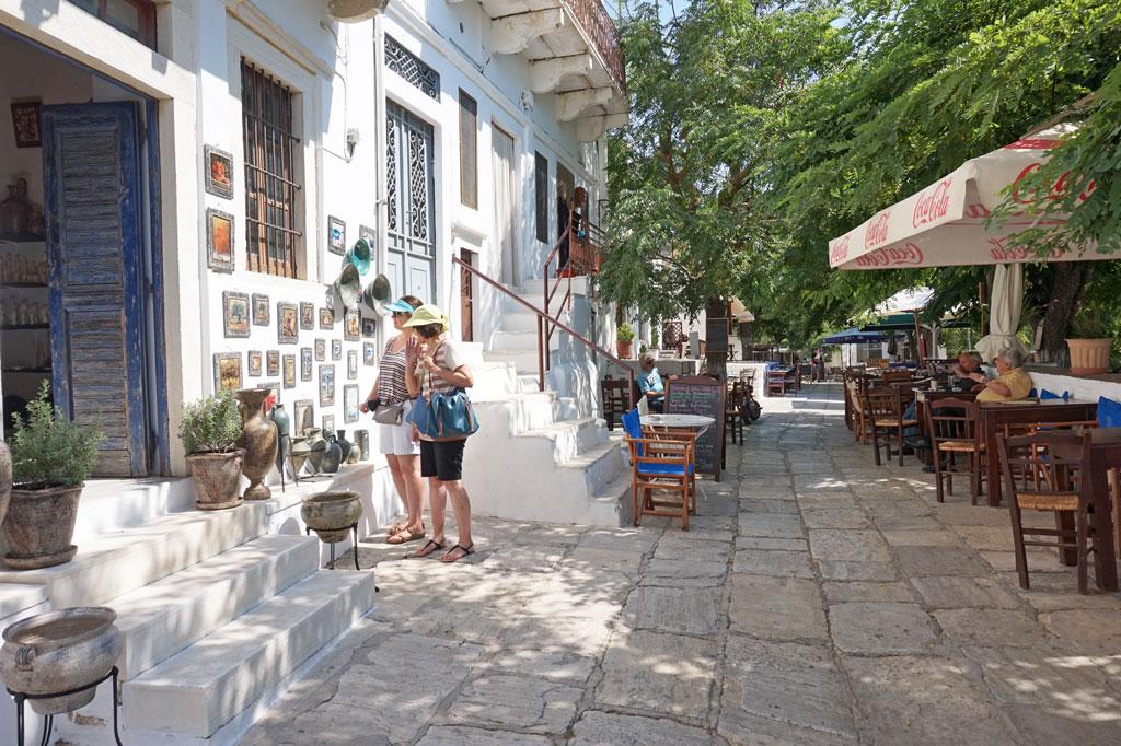 Apeiranthos Naxos Greece