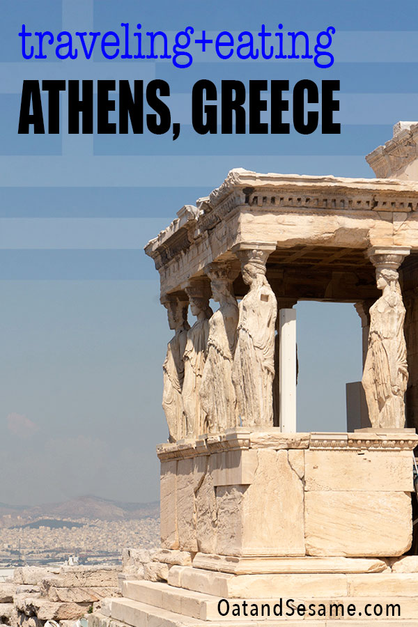 Travel Post for Athens Greece