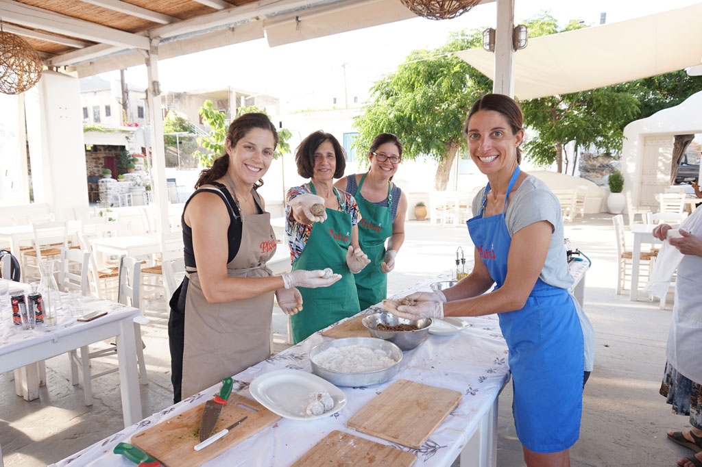 Naxos Greece Cooking Class