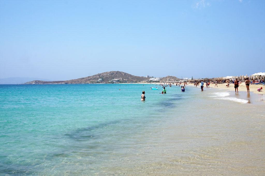 Agios Prokopios Beach Naxos Greece