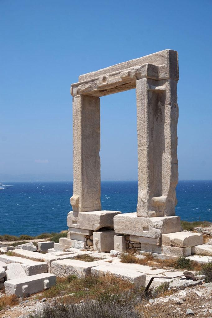 The Portara, Naxos Greece