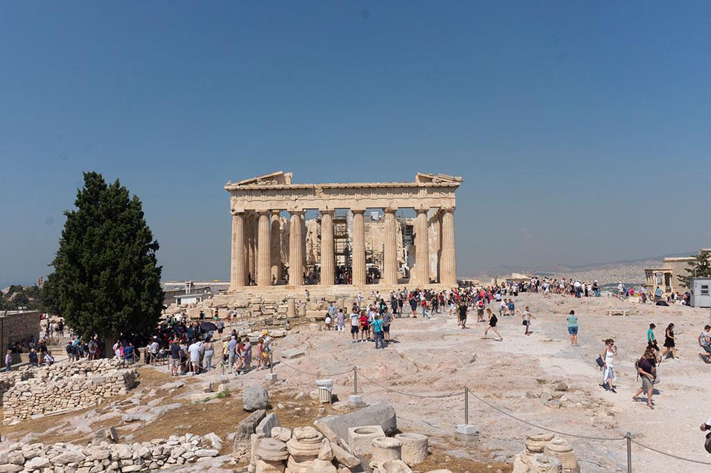 Acropolis, Athens Greece Vacation