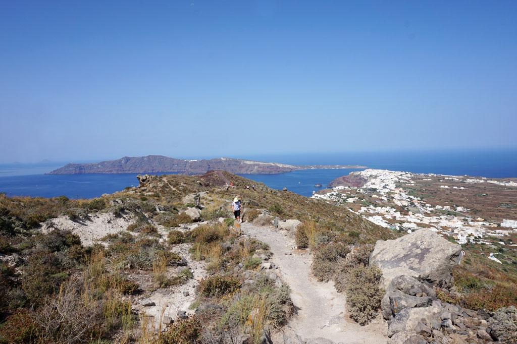 Fira to Oia hike