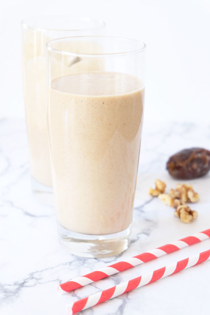 Date Shake in a glass