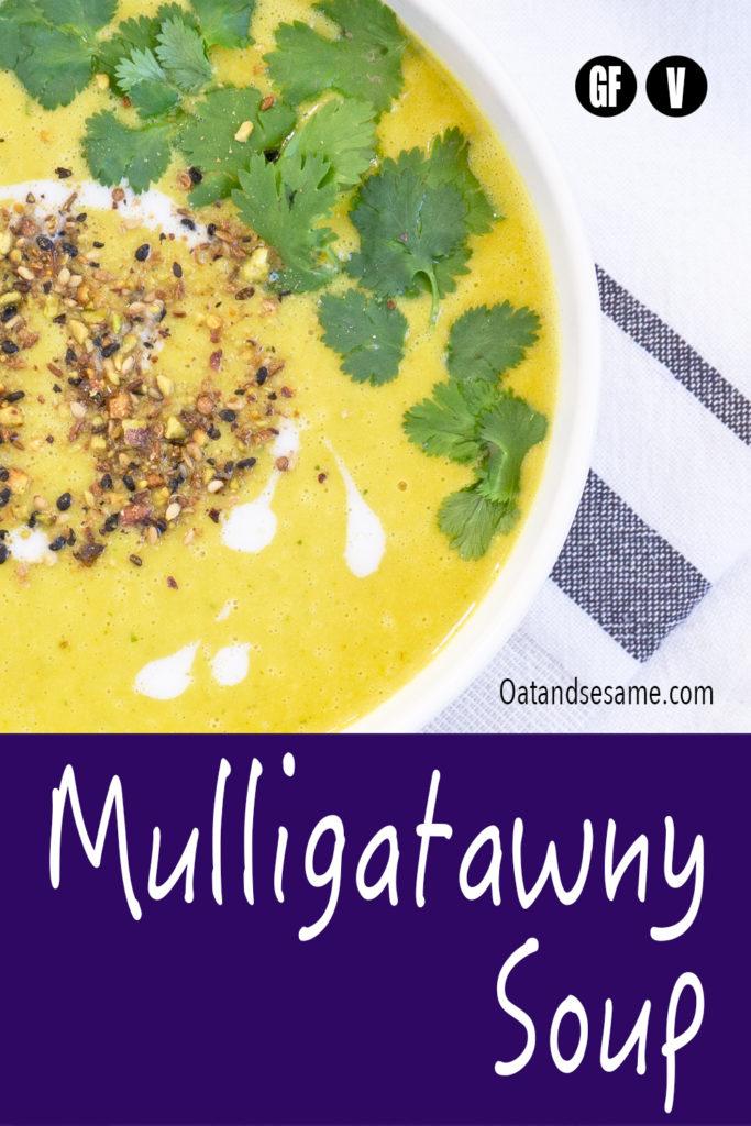 Pin image for lentil soup